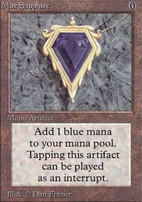 Mox Sapphire - Unlimited