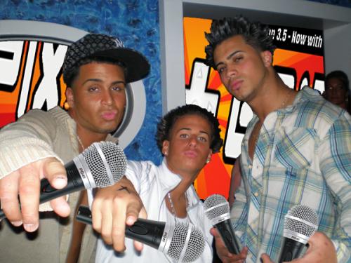 3 guys 1 cut..