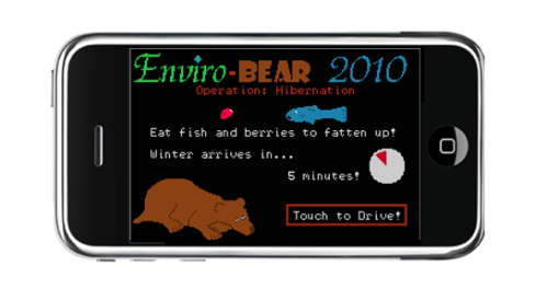 Who is driving? A bear is driving! How can this be?