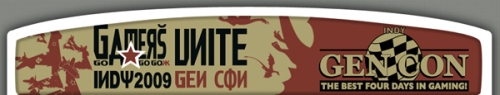 Header from Gencon Indy's Home Page