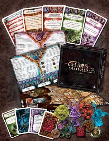 While not as full of pieces as Arkham Horror, Chaos in the Old World holds it's own.