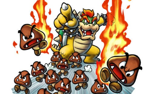 Fire Goomba's, better than regular Goomba's