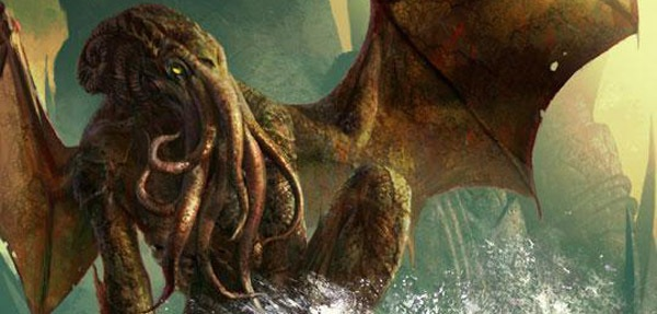 In his house at Ry'leh, dead Cthulhu waits dreaming
