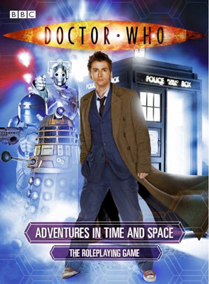 Dr. Who RPG Front Cover