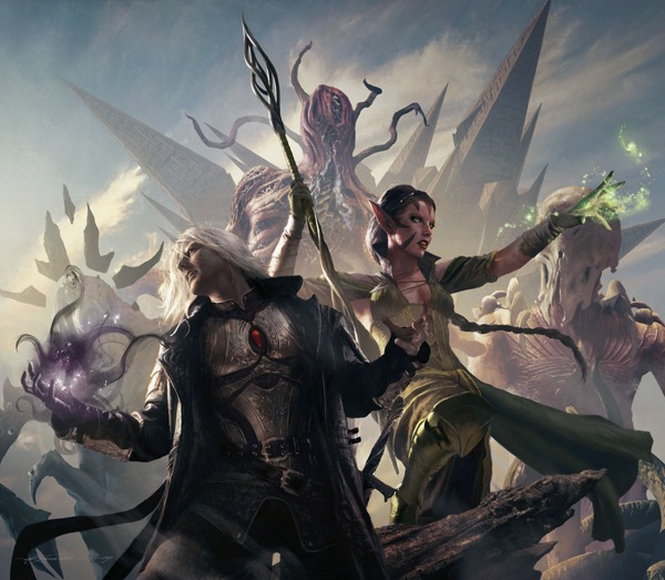 Is that Drizzt?  He's soooo cool!